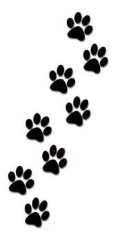 dog paw print stamps dog prints clip art clipartcow 4