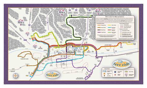 breckenridge map getting around town parking visit breckenridge