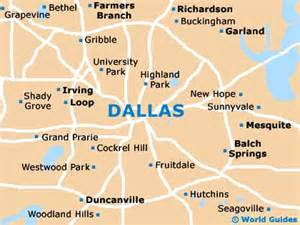 us map of dallas dallas maps and orientation dallas tx usa