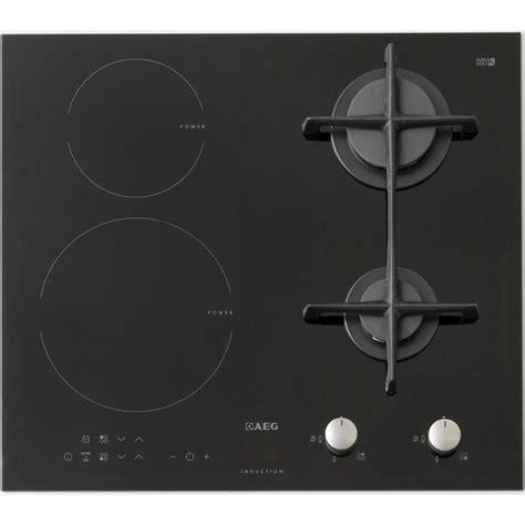 table de cuisson induction et gaz test aeg hd634170nb tables mixtes induction et gaz ufc que choisir