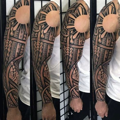 filipino sleeve tattoo designs 70 tribal designs for sacred ink ideas