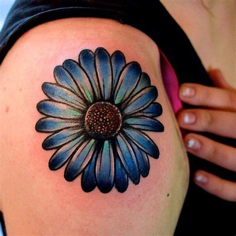 daisy flower tattoos 17 best ideas about shoulder tattoos on