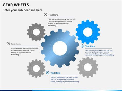 mechanic gears and wheels powerpoint template background gear wheels powerpoint sketchbubble