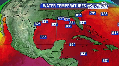 Water Temperature Gulf Of Mexico | all eyes on invest 93l myfoxhurricane com blog