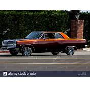 A 1965 Chevy Chevelle Low Rider With Hydraulic Suspension
