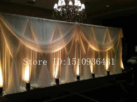 drapes for party decor aliexpress com buy 3 6m beautiful party decoration