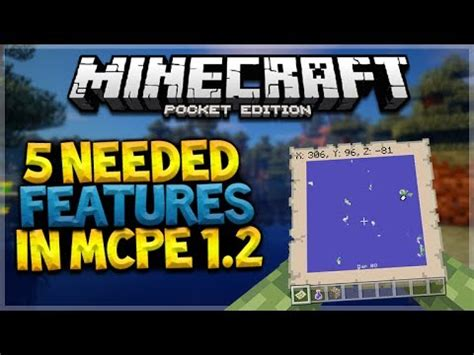 Mcpe Game Console Mod | top 5 features needed in mcpe 1 2 from minecraft console