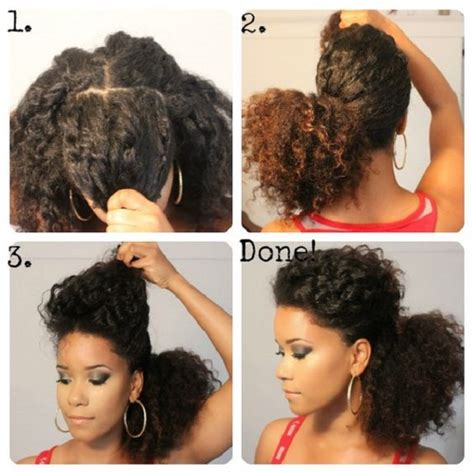 tutorial natural hair styles 8 quick easy hairstyles on medium short natural hair