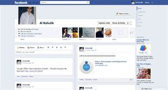Web App Homepage Design Facebook Screenshot New Facebook Timeline And How To Get It