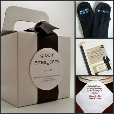 Groom gifts   Niche White Bridal Loft