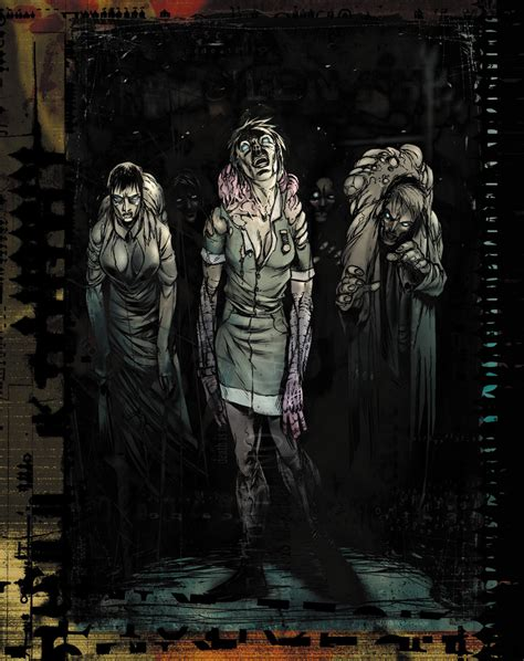 more silent hill by neil googe on deviantart