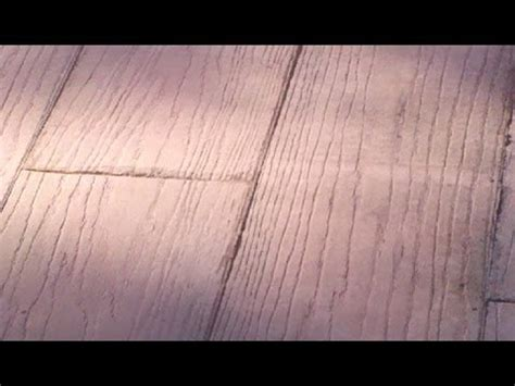 youtube pattern concrete wood plank st concrete augusta ga youtube