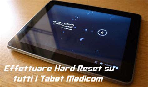 reset uscita video ps3 guida effettuare hard reset di tutti i tablet mediacom