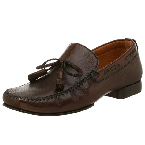 mezlan loafers mezlan mens slip on loafer in brown for cognac lyst