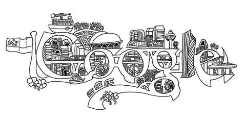 doodle lingkungan doodle 4
