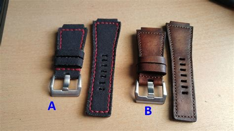 Gunny Custom Jam Tangan 26mm sold gunny aftermarket leather for bell ross