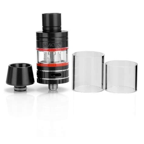 Original Smoktech Smok Micro Tfv4 Plus Xl Glass 3 5ml 1 authentic smoktech micro tfv4 black sub ohm tank clearomizer