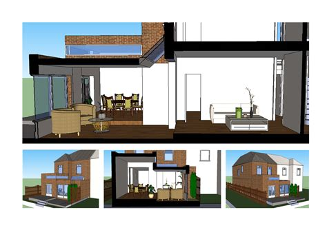 home extension layout ideas architect designed rear house extension grove park