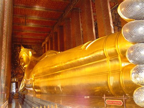Meaning Of Reclining Buddha by Wat Pho Wallpapers Hd Widescreen Desktop Backgrounds
