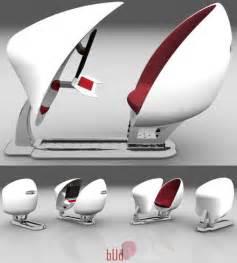 enclosed egg chair bud adjustable computer workstation brings back the ovalia