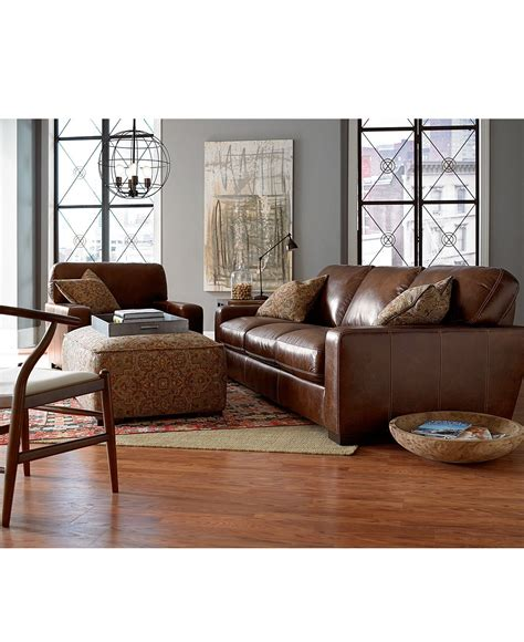 valyn leather sofa couches sofas furniture macy s