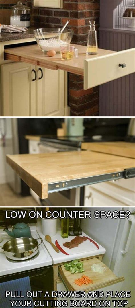 34 Super Epic Small Kitchen Hacks For Your Household