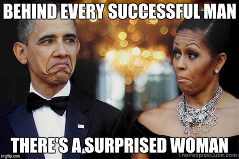 Men And Women Memes - behind every successful man there s a surprised woman