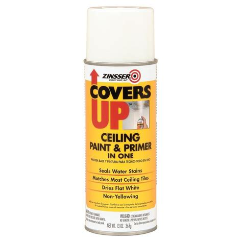 Zinsser Ceiling Paint Review by Shop Zinsser Covers Up Interior Primer Actual Net
