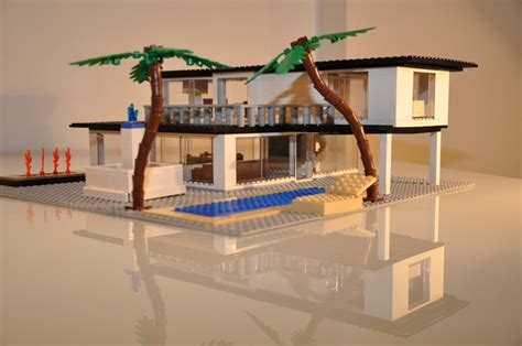 Mid Century Modern Home Floor Plans by Vote The Best Lego Mid Century Modern House