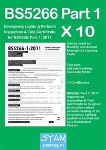 Emergency Lighting Test Certificate Template Campus Emergency Preparedness Cert Emergency Lights