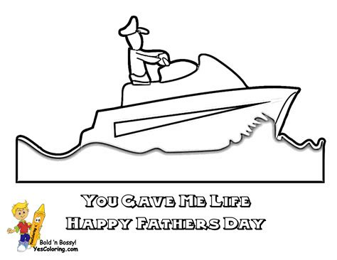 motorboat comedian motor boat colouring pages 171 all boats