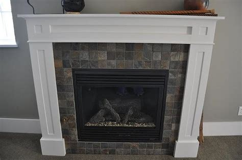 Slate Tiles For Fireplace by Slate Fireplace Phinney Ridge Jims Custom Tile And Cabinetry