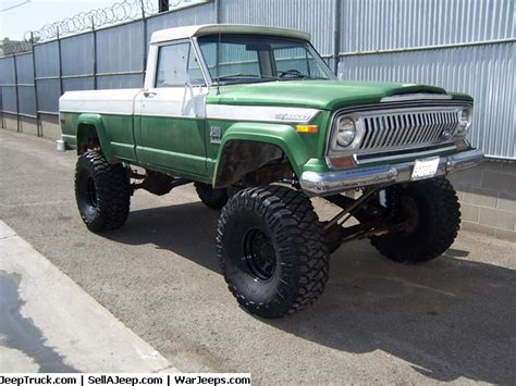 jeep gladiator lifted 1973 jeep j20 used to go to hard to reach caves in one