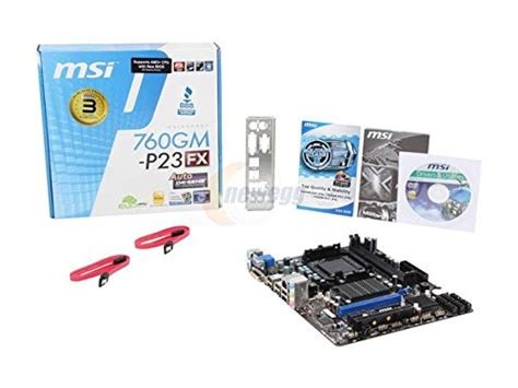 Msi 760gm P23 Fx Motherboard Black by Msi 760gm P23 Fx Micro Atx Am3 Motherboard 760gm P23