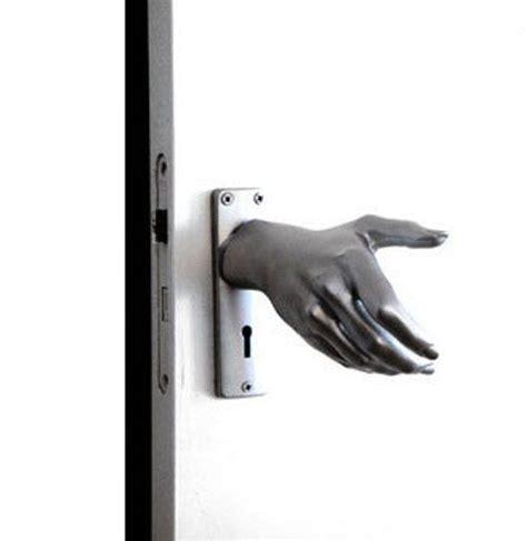 scary strange door handles hardware by