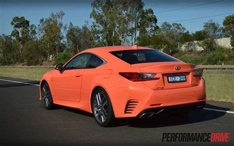 lexus rc 2015 lexus rc 350 f sport review video performancedrive