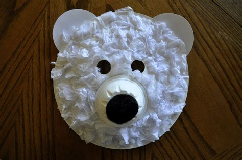 paper plate polar craft i crafty things polar masks