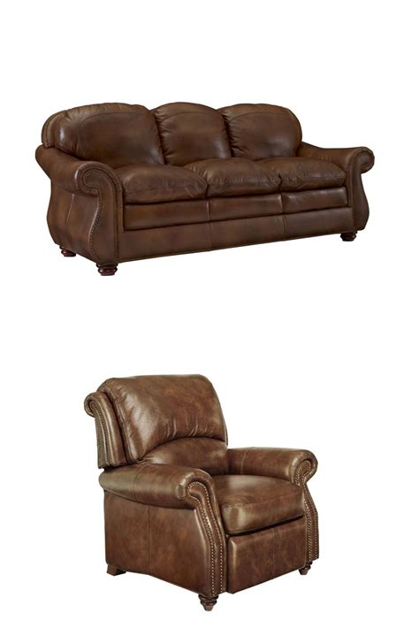 recliners dublin traditional comfortable leather living room set top