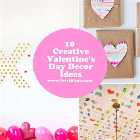 10 creative valentines day decor ideas