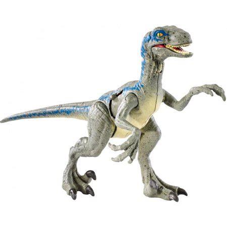 "jurassic world battle damage velociraptor ""blue"" walmart.com"