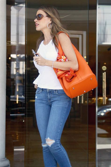 Jean Sofia sofia vergara shopping at geary