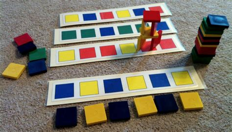 tiling pattern games testy yet trying car ride activities set 4
