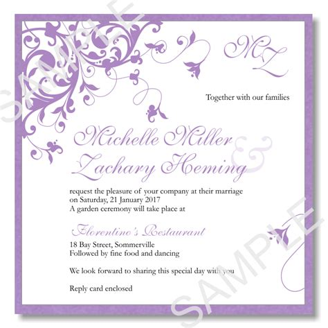 fancy invitation template invitations template best template collection