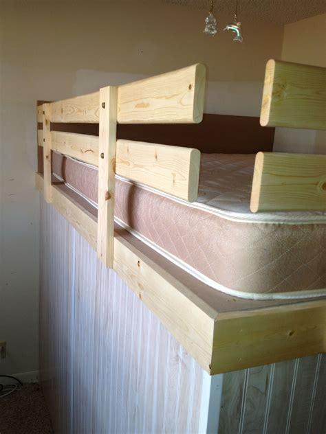 safety rails  loft bed grodconstruction diy grod