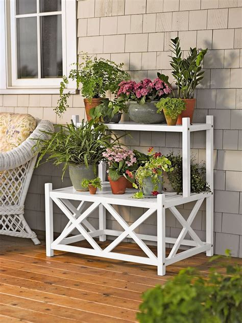 outdoor plant stands cottage plant stand   tier