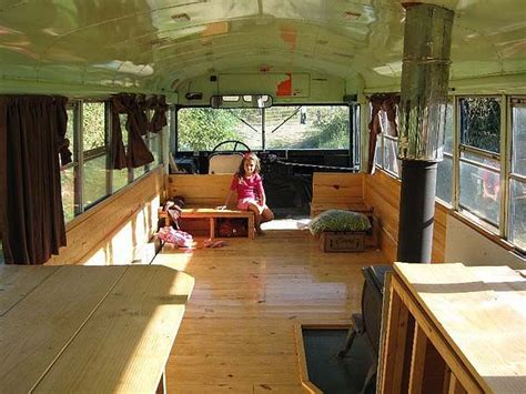 Truck Camper Floor Plans by Bus Refurbished Into A Rv Camper Road Trip