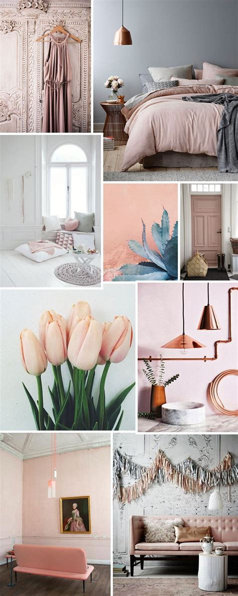 decorations blush gray copper room decor inspiration mauve home coming up roses blush pink for your home french