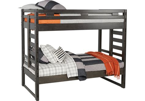 Creekside Bunk Beds Creekside Charcoal Bunk Bed Beds Colors