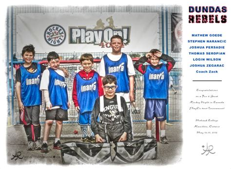 who plays 13 on house dundas rebels play on 4 on 4 tournament aerial promotions ca