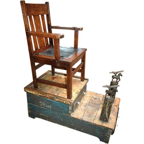 Portable Shoo Chair by Shoe Shine Stand Shoes Folk And Folk